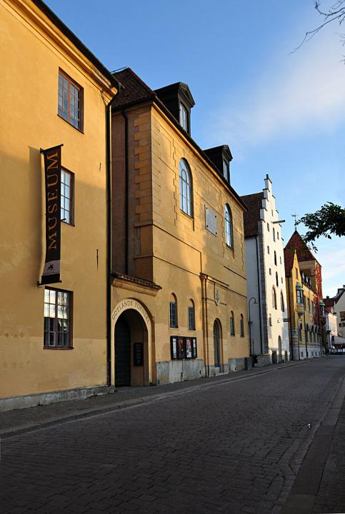 Gotlands Museum, södra delen.