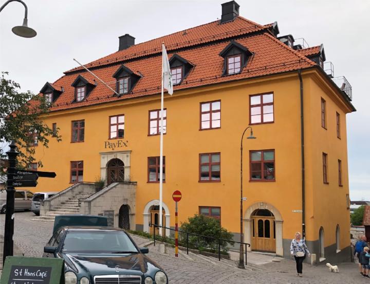 Lythbergska huset omkring 2010.